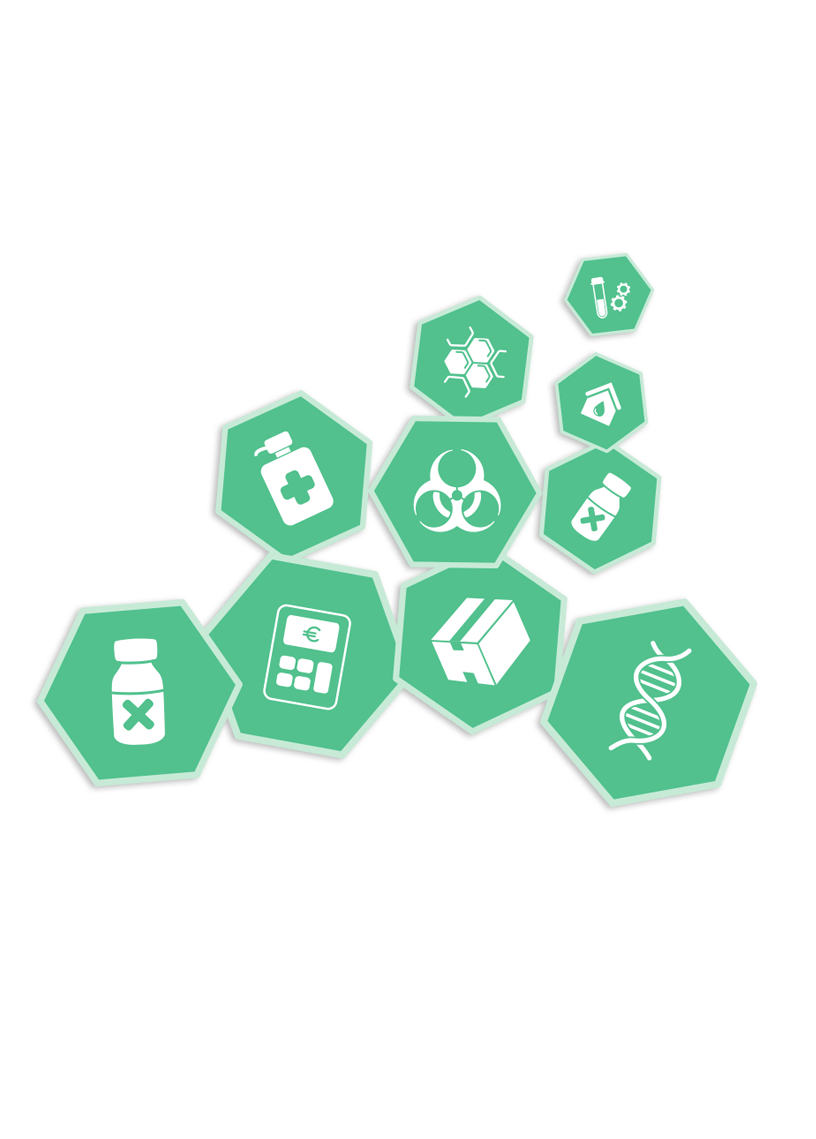 Medat Laborinformationssystem, icons