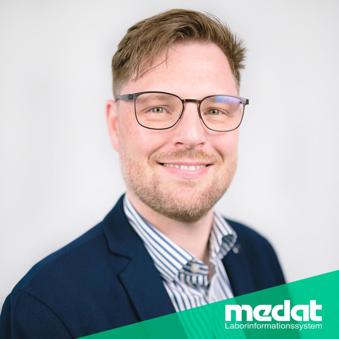 Medat Labor, Vertriebsleiter Philipp Conrad, Hersteller von Laborsoftware