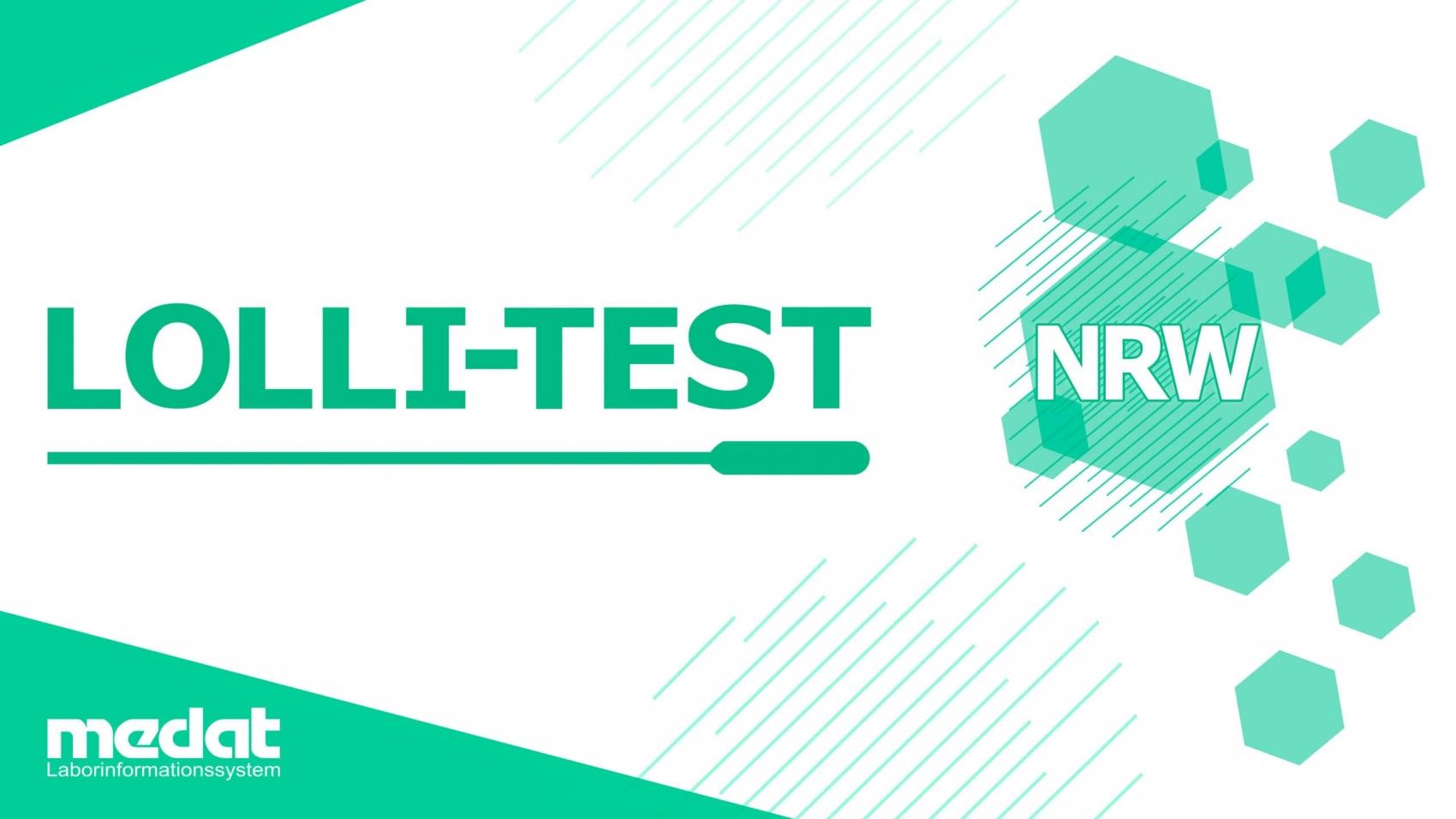 Medat, Laborsoftware Hersteller, testet Schülerinnen und Schüler mit Lolli-Test auf Corona in NRW